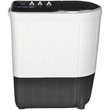 Whirlpool 6.2 kg Semi-Automatic Top Loading Washing Machine (Superb Atom 62I, Dark Grey)