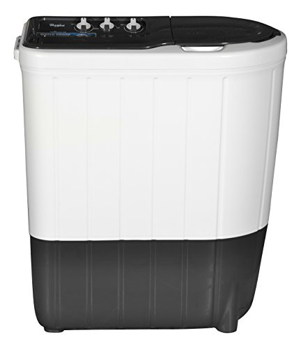 Whirlpool 6.2 kg Semi-Automatic Top Loading Washing Machine (Superb Atom 62I, Dark Grey)