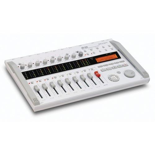 Zoom–R16Ausrüstung Videorekorder Schnittstelle controlador. Recorder 8Tracks