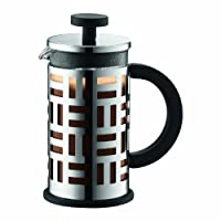 12 oz. , Chrome : Bodum Eileen French Press Coffee Maker, 12-Ounce, Chrome