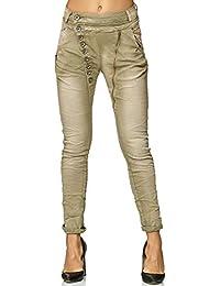 Elara Mujer Jeans | Botones | Cremallera | chunkyr Ayan