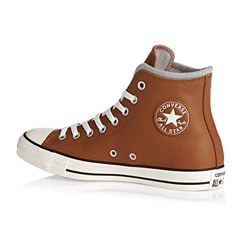 AS Salut cuir Converse Chucks 139820C Hiker2 Lea Pomme Brown Prime Chuck Antique Sephia/Egret/Dophin