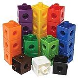 EDX Education 53837 2 cm Linking Cubes, 10 heldere kleuren, 1000 stuks