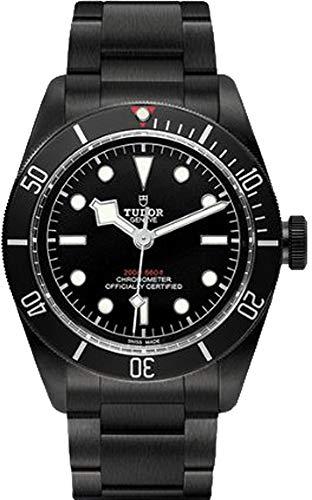 Tudor patrimonio nero Baia Dark 79230DK orologio da uomo