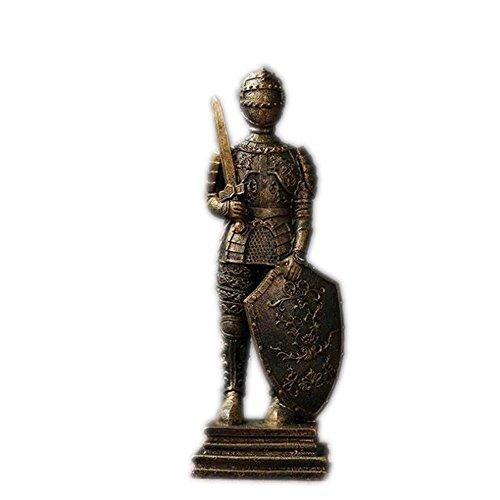 PPLLMMNN Dekoration Kreative Römische Soldaten Statue Wohnzimmer Krieger Home D