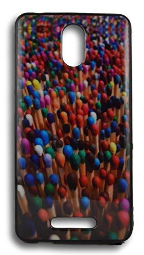 BlueArmor Soft Back Cover Case For Micromax Canvas Evok Design 4
