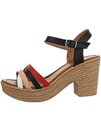 Ital-Design , Chaussures compensées Femme