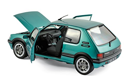 Miniature 18 Exclusivité 1 Gti 1 9l Véhicule Griffe Internet Norev Peugeot 205 1990 Echelle Vert 4L3AR5j