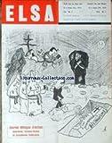 ELSA [No 6] du 01/09/1970 - JOURNAL BILINGUE D'ACTION ALSACIENNNE - LORRAINE-THIOSE ET EUROPEENNE FEDERALISTE.