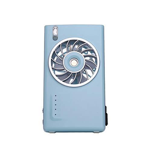 CAOQAO Ventilatore spray Mini USB Fashion, disponibile in tre colori, dimensioni: 13.4 * 7.6 * 5cm, batteria 2000mAh per 2-3 ore, può essere fissato sul tavolo