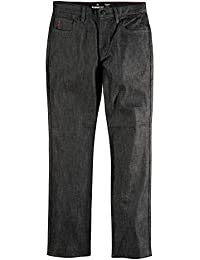 EMERICA Pant REYNOLDS STRAIGHT Denim, black raw 33/32
