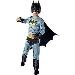 Warner - I-610778m - Disfraz Para Niños - Classic Batman Cómic - Talla M