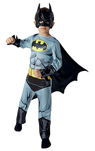 Batman Classic Comic Book - Kids Costume 5 - 6 (Batman Kostüm Medium)