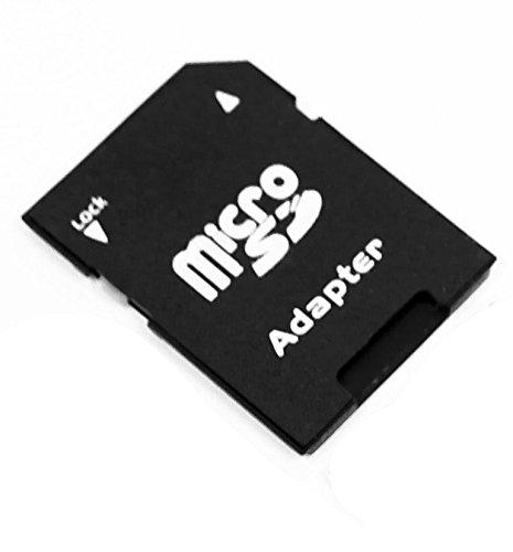 1x Adapter von micro SD / Transflash auf SD Speicherkarte -