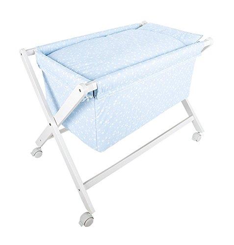 Minicuna Plegable ATECA azul