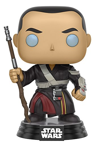 Funko Pop! Film: Star Wars Rogue One: A Star Wars Story -  Chirrut Imwe figura di azione