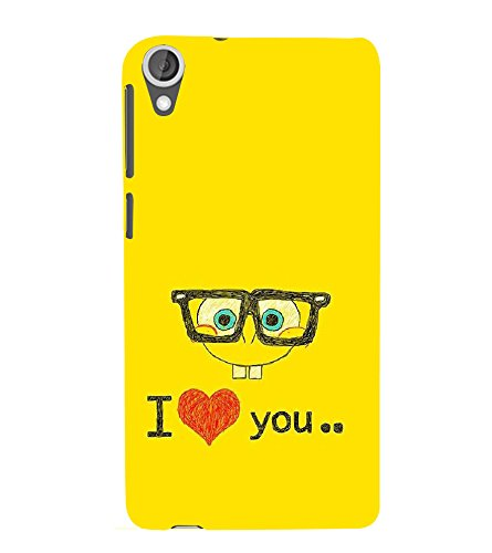 PrintVisa Love Lovely Cartoon 3D Hard Polycarbonate Designer Back Case Cover for HTC Desire 820 :: HTC Desire 820 Dual Sim :: HTC Desire 820S Dual Sim :: HTC Desire 820q Dual Sim :: HTC Desire 820G+ Dual Sim