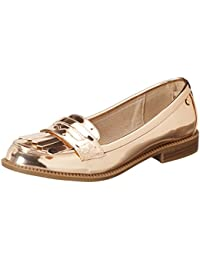 Xti Nude Mirror Pu Ladies Shoes ., Mocassins (loafers) femme