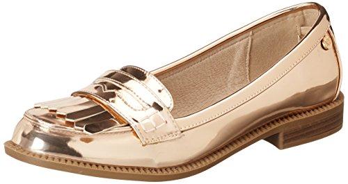Xti nude mirror pu ladies shoes ., mocassins...