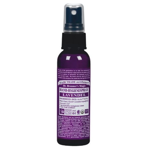 Dr. Bronner's Hand Hygiene Spray Lavendel, 59ml