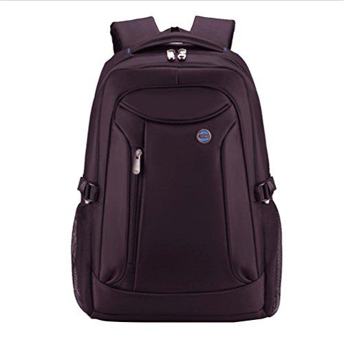 Baymate Laptop Collegio Daffari Borsa Per Notebook Del Calcolatore Dello Zaino Zaino Impermeabile Di Viaggio 16 Pollici Viola