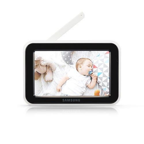 Samsung Sew 3057W–Sistema de vigilancia de bebés, color blanco