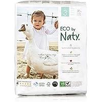 Eco by Naty Ökowindeln - Größe 3 (4-9 Kg), 4er Pack (4 x 31 Stück)