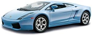 Bburago - Lamborghini Gallardo, Color Azul (18-25076)