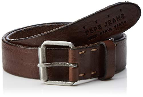 Pepe Jeans Herren Moreto Belt Gürtel, Braun (Brown 878), 80 (Herstellergröße: 95)