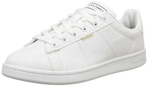 Jack & JonesJjbane Pu Sneaker Bright White - Scarpe da Ginnastica Basse uomo , Bianco (Bianco (Bright White)), 42