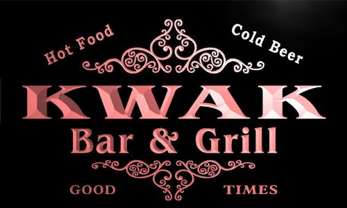 u24834-r-kwak-family-name-bar-grill-home-beer-food-neon-sign-enseigne-lumineuse