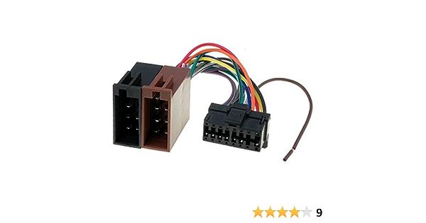 Sound Way Adapterkabel Iso Stecker Kompatibel Mit Autoradio Pioneer 16 Pin Auto