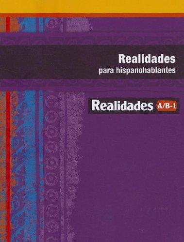 Realidades Para Hispanohablantes A/B-1