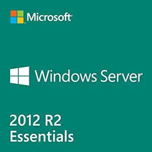 Microsoft Windows Server 2012 R2 Essentials - Licence and media - 1 server (1-2 CPU), up to 25 users - OEM - 64-bit - English(G3S-00716)