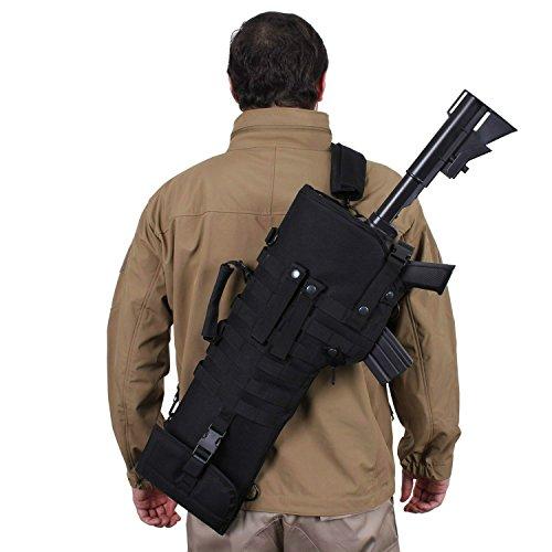 Phalanx Gear Gewehrhülle, M4,Schwarz, Taktisches Gewehr, Militär, Schulter-Tragetasche -
