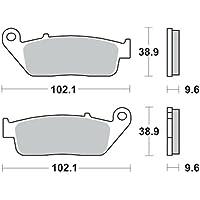 Bremsbacken TRW VL 125 Daystar 04-06 hinten