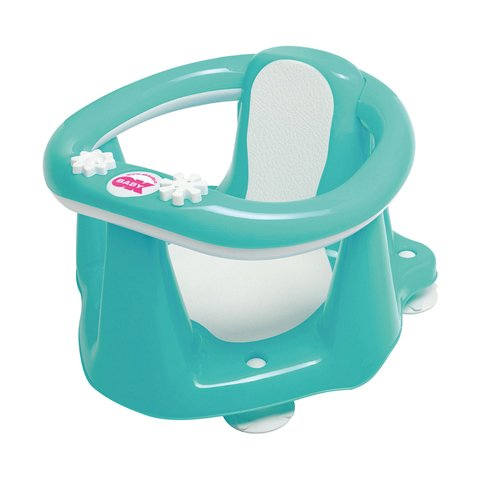 Poltroncina bagnetto Okbaby Flipper Evolution 72 Verde Acqua Flash