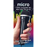 Microphone USB pour Wii/Xbox 360/PS3/PC