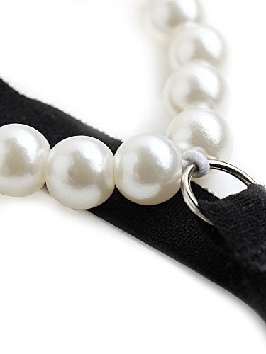c28f74f062 Fasicat Tanga Slip con apertura mutandine perizoma slip perla per le donne  stile nuovo design Underwear nero