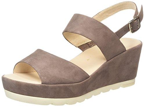 Gabor Shoes 45.740 Damen Slingback Sandalen,  Beige (14 dark-nude), 40 EU