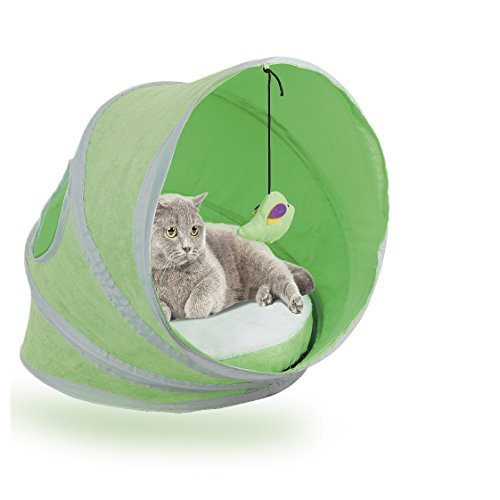 Pawise Katzen Zelt Bett Pop-Up Pet Cat House Zelt Castle (Pet Pop-up-zelt)