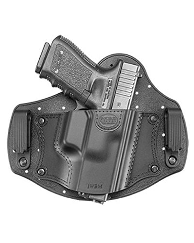 Fobus New IWBM Right IWB Inside Waistband for Glock 26 & 19 Beretta PX4 Compact Walther PPQ & P99 Ruger SR9/40/45 / Ruger LC9/9s S&W Shield Taurus 709 Slim & PT111 G2 - Ruger Verdeckte Holster Lc9