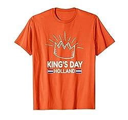 Königstag T-Shirt Koningsdag T-Shirt T-Shirt