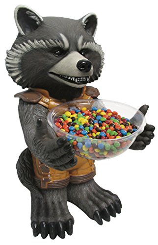 Kostüm Batman Verwandte - Rubie's NEU Candy Bowl Holder Rocket Raccoon, ca. 50 cm