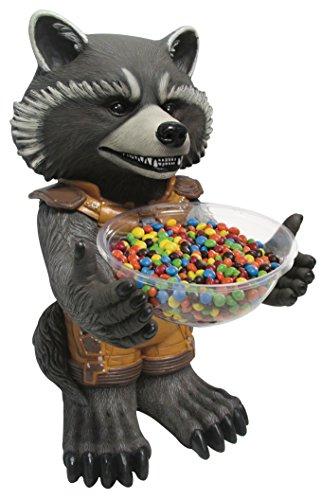 Rubie's NEU Candy Bowl Holder Rocket Raccoon, ca. 50 cm (Holder Candy Bowl)