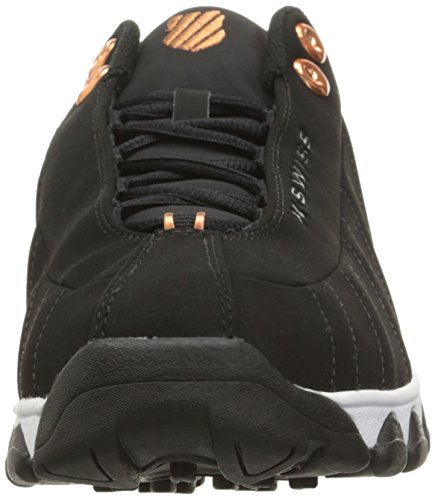K-Swiss Mono Cuir Baskets black/copper