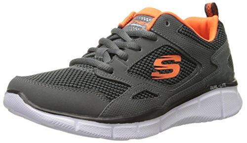 Skechers Jungen Equalizer Game Point Sneaker Gris (Gris/Orange)