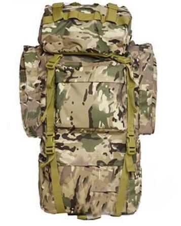 65L Sporting Rucksack Large Capacity Tasche Für Long Trip Wandern Camping Klettern Military Rucksack Neun Farben erhältlich cp color