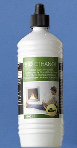 Bio-Ethanol, 1Liter Flasche, für Ethanol-Kamine und Feuerobjekte