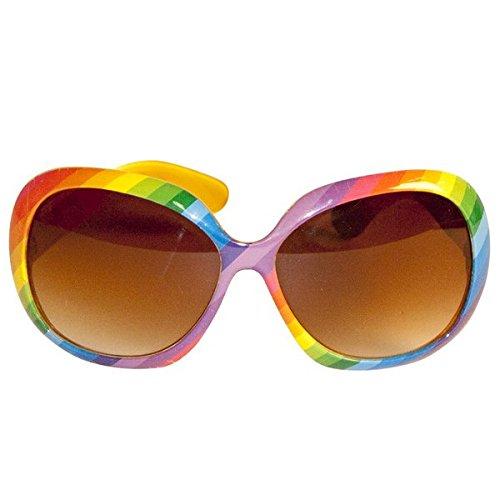 Creative Fancy Kleid Party Gläser-Regenbogen Farben